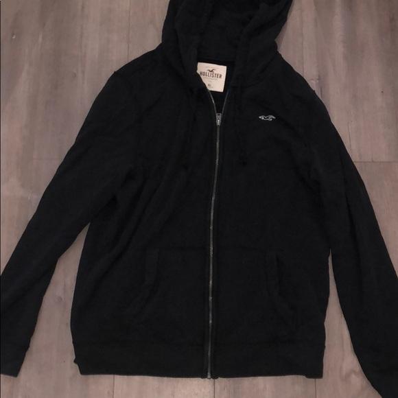 Men\u2019s Hollister zip up sweater
